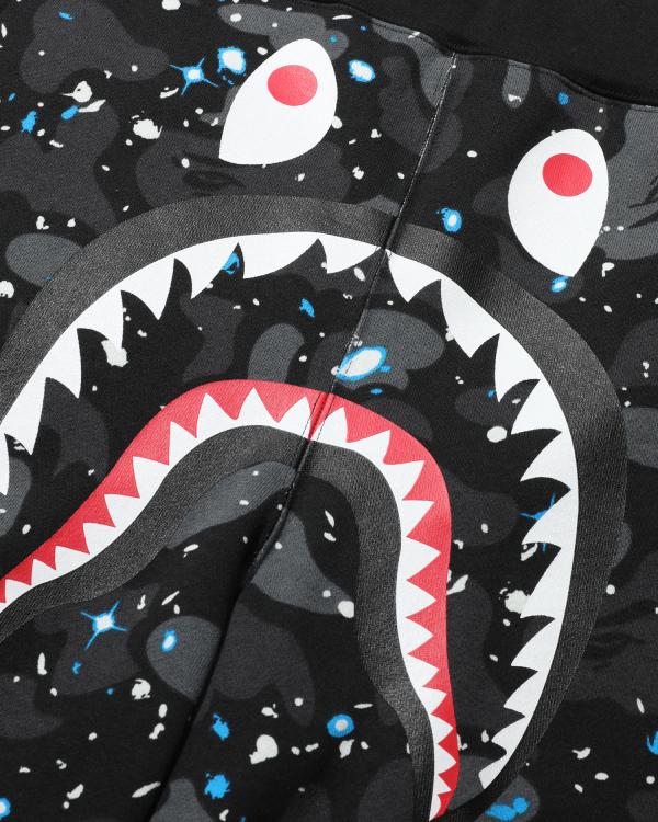 Space Camo Shark sweat shorts