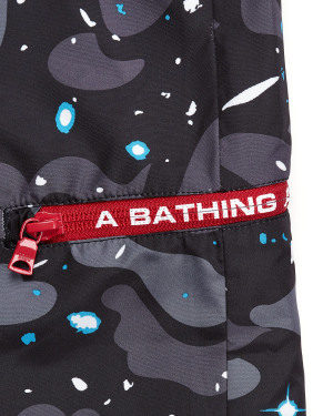 Space Camo beach shorts