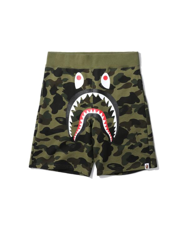 1st Camo Shark sweat shorts