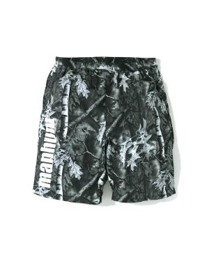 BAPE Forest Camo track shorts