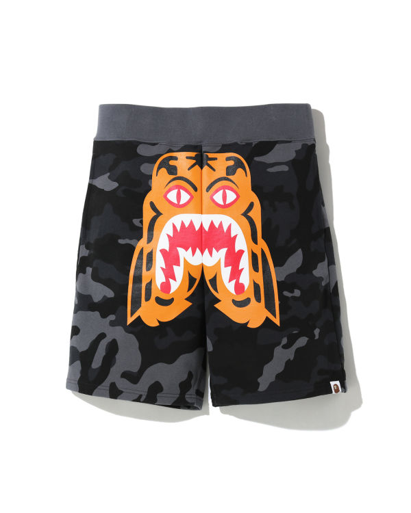 Woodland Camo Tiger sweat shorts