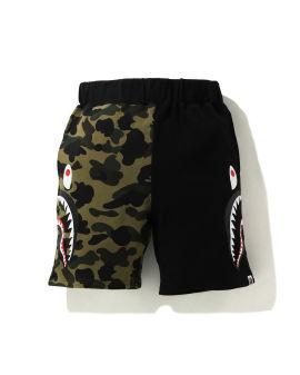 1st Camo Half Side Shark Sweat shorts