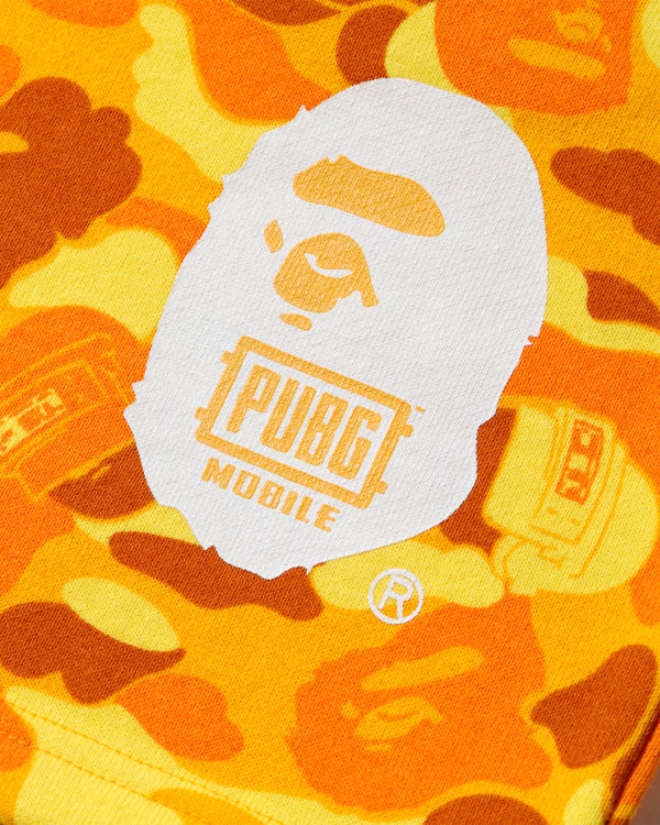 X PUBG MOBILE camo sweat shorts