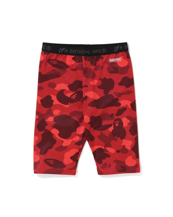 Colour Camo biker shorts