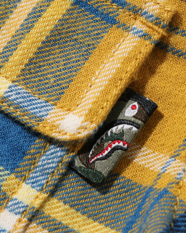 Shark Flannel Check shirt