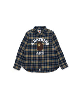 College Flannel Check Shirt