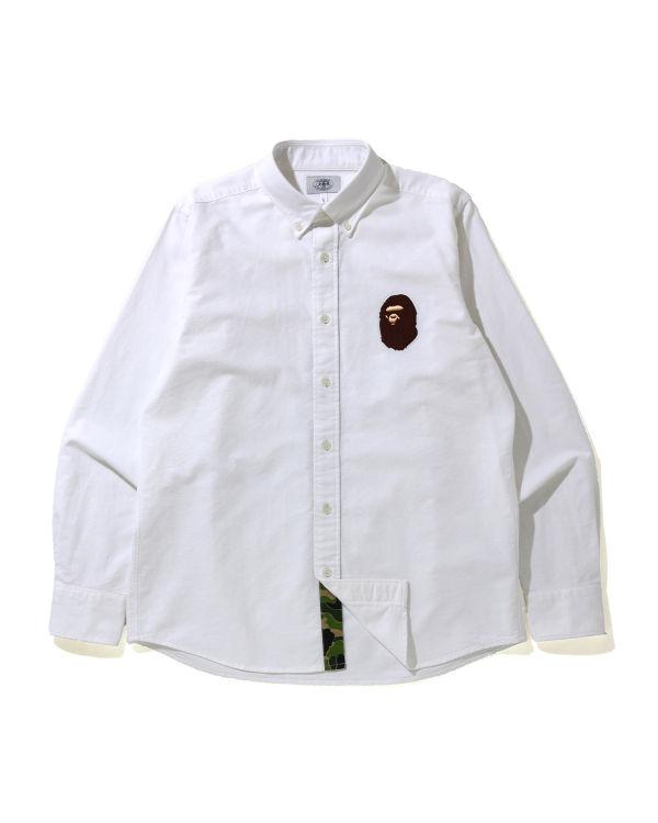 Large Ape Head Oxford button down shirt