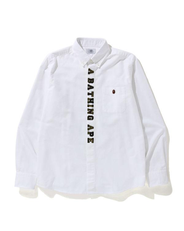 1st Camo Applique Oxford shirt