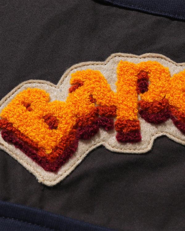 ABC Flower Patchwork Army jacket