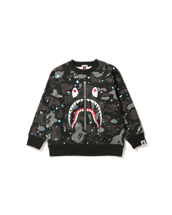 Space Camo Shark sweatshirt