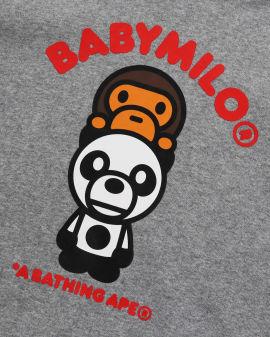 Baby Milo Panda Pullover Hoodie