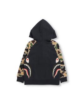 Sta Camo Side Shark Half Zip Hoodie