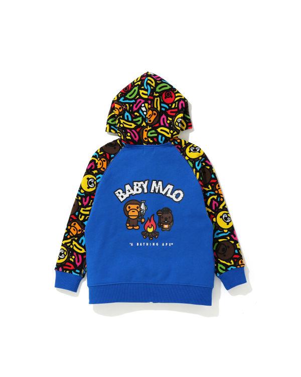 Milo Banana Pool zip hoodie