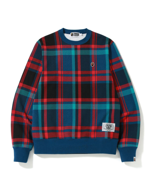 Bape Check sweatshirt