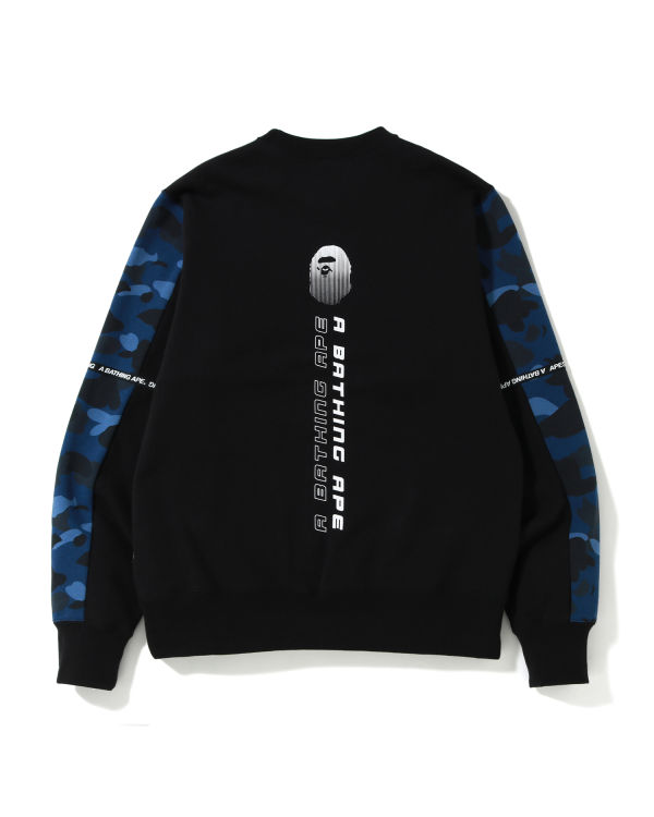 Logo tape crewneck sweatshirt