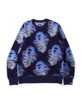 Bape Storm Crewneck sweatshirt
