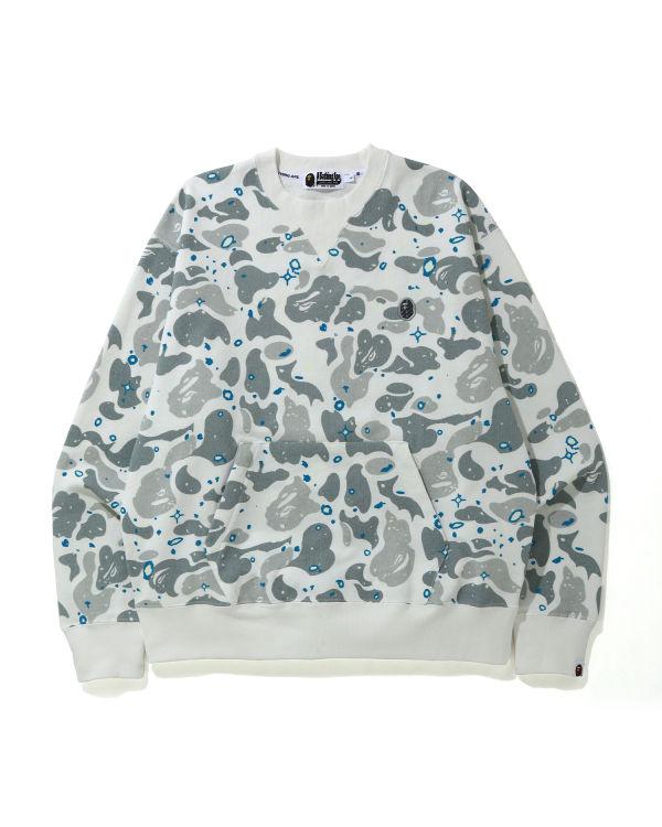 Relaxed Space Camo sweatshirt