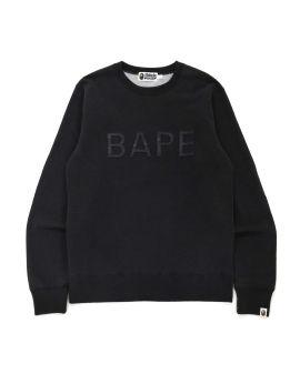 Bape Patch Indigo Crewneck Sweatshirt