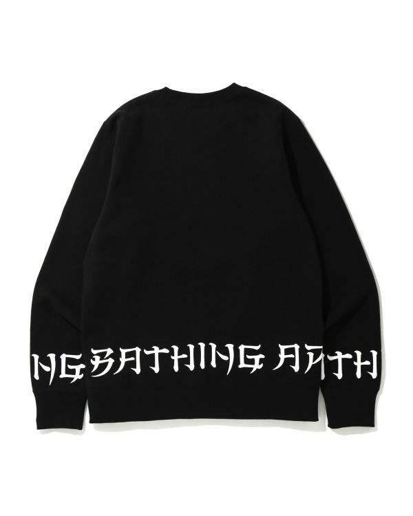 A Bathing Ape Lettered sweatshirt