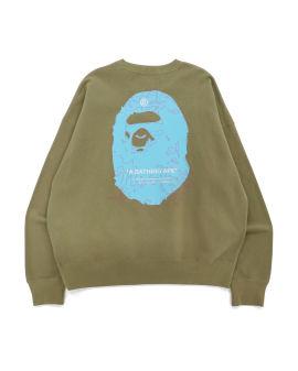 Big Ape Head Digital Mosaic Sweatshirt