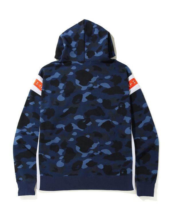 Color Camo Logo tape hoodie