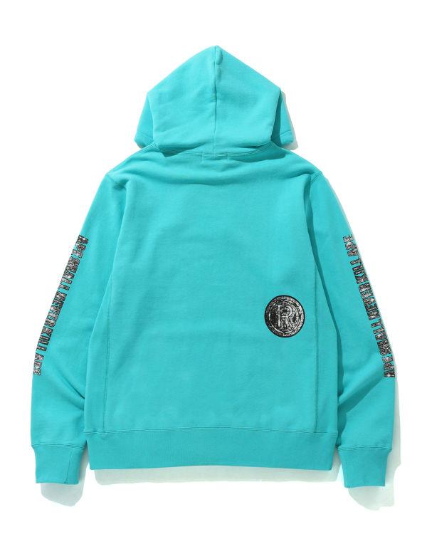 Jewelry Motif wide hoodie