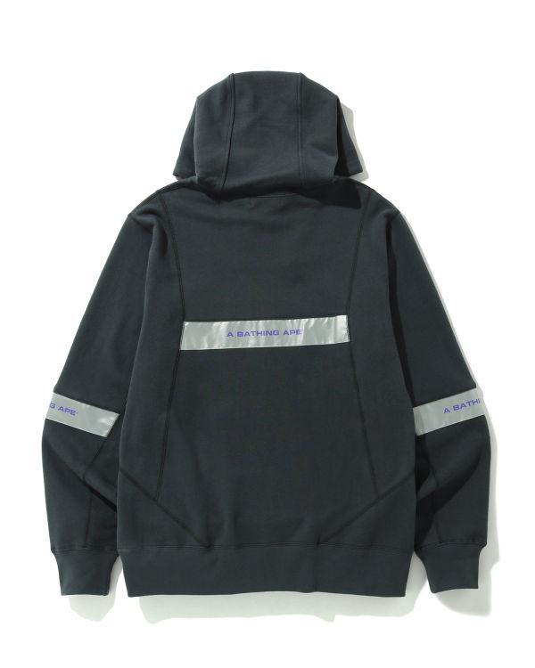 Wide Patchwork hoodie