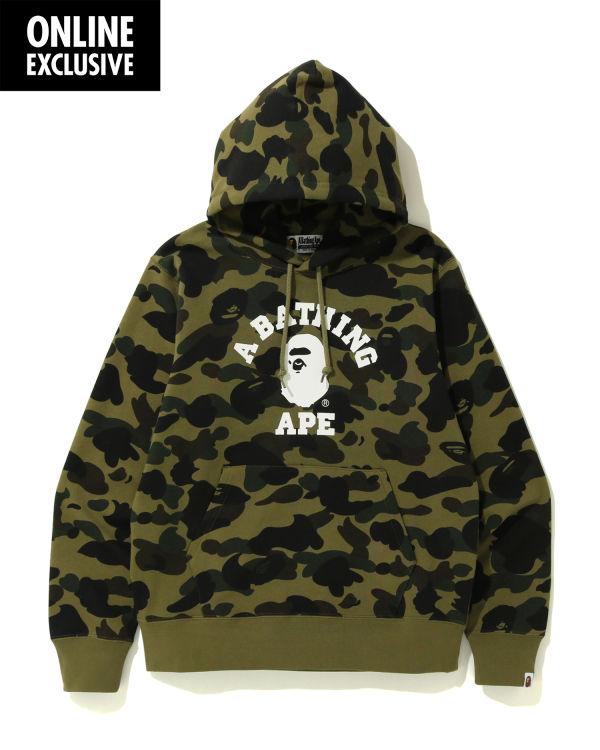 1st Camo College hoodie