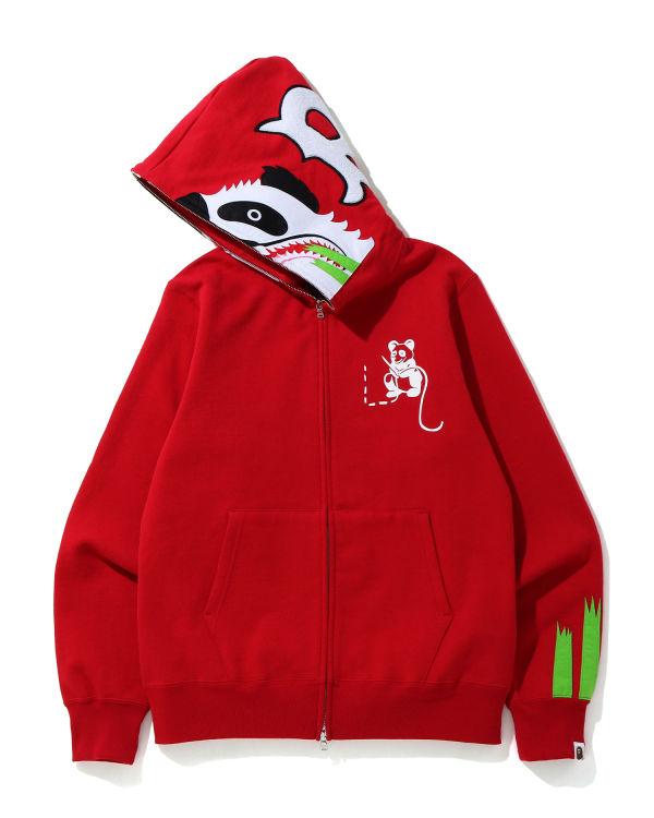 Panda zip hoodie