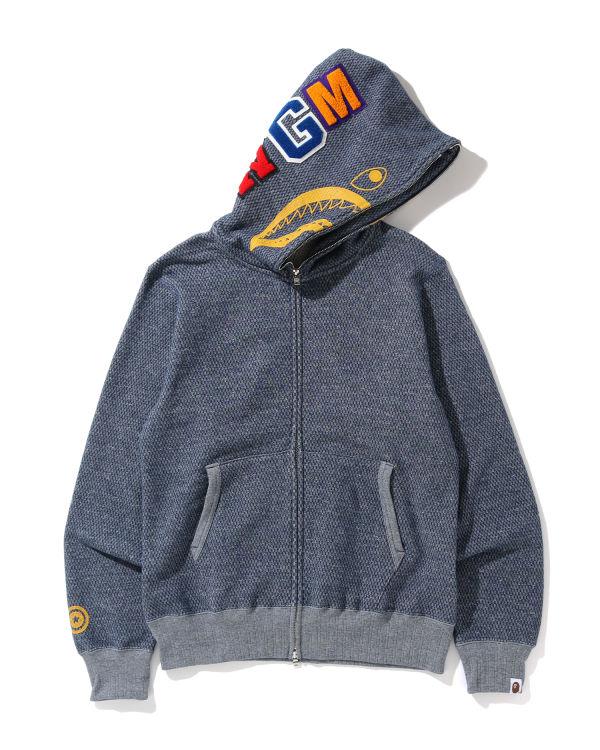Shark full zip hoodie