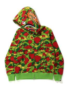 Sta Camo Shark Zip hoodie
