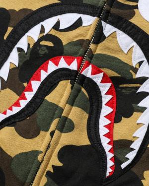 1st Camo Shark full zip hoodie