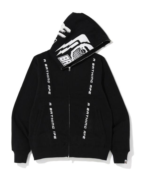 Motor Sport fulle zip hoodie