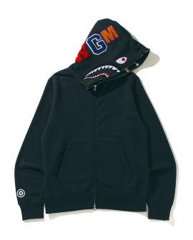 Double Side Shark Full Zip hoodie