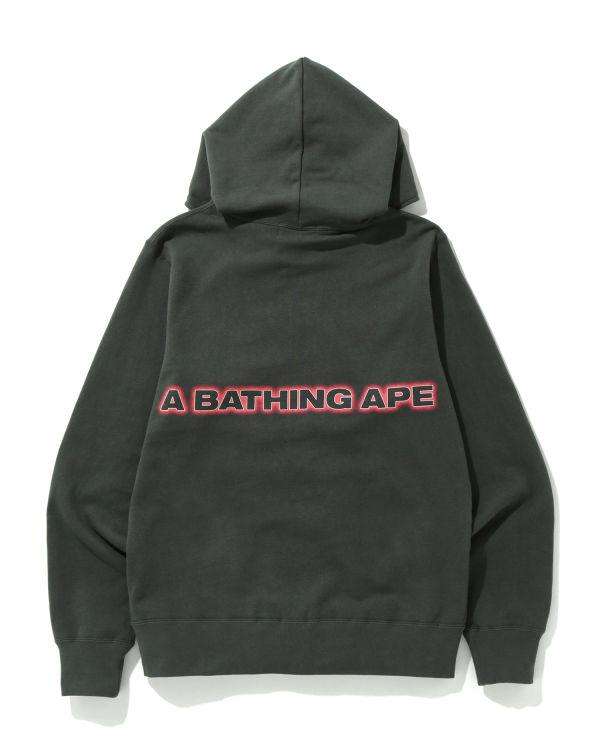 Logo full zip hoodie