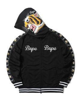Tiger jersey full zip hoodie