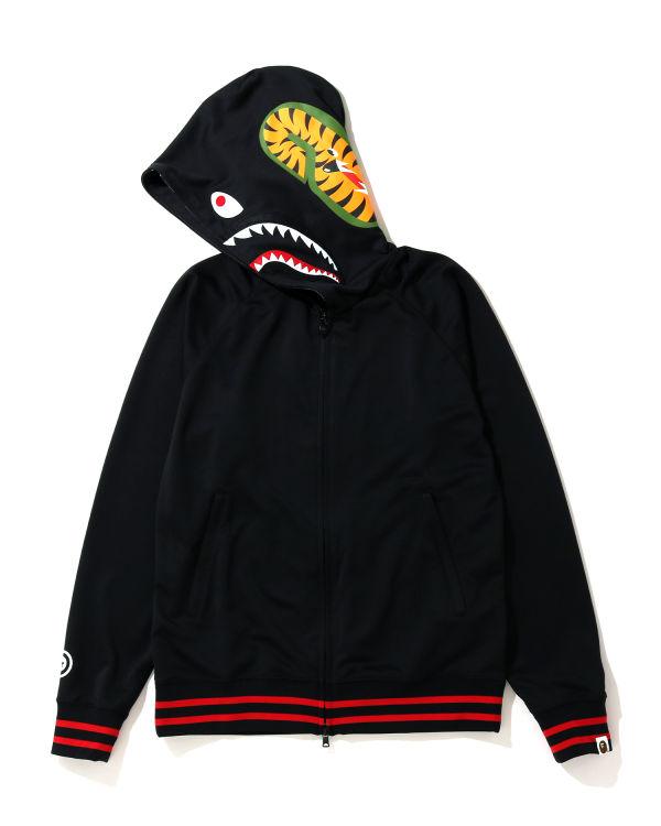 Shark Jersey zip hoodie