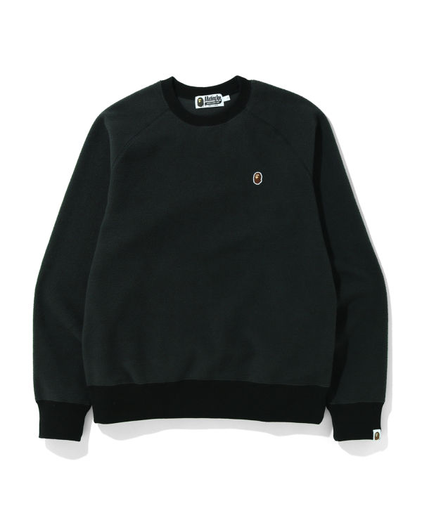 Fleece one point sweatshirt