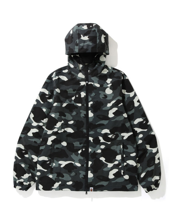 City Camo hooded jacket