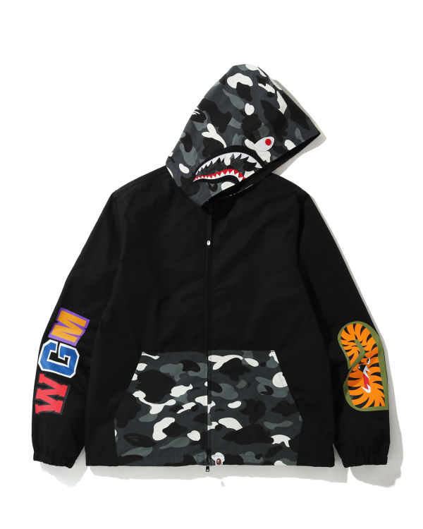 City Camo Shark hooded jacket
