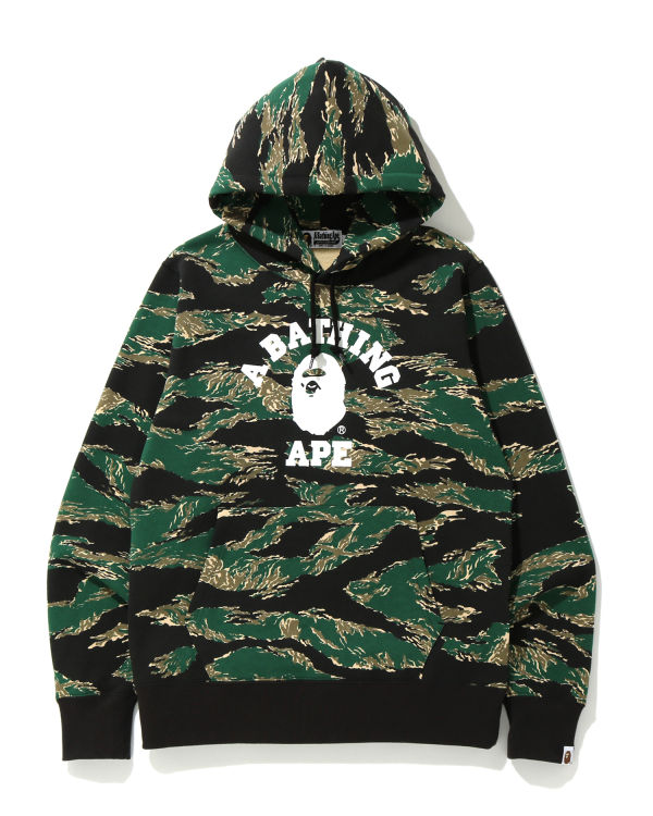 Tiger Camo College hoodie