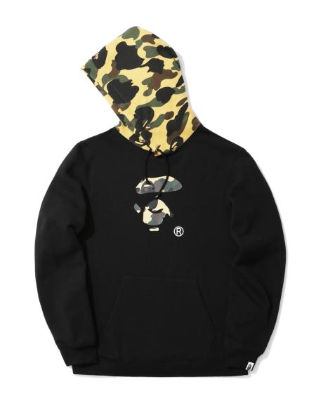 84e9cadf0c69 New Arrivals. A BATHING APE®. 1st Camo Ape Face hoodie