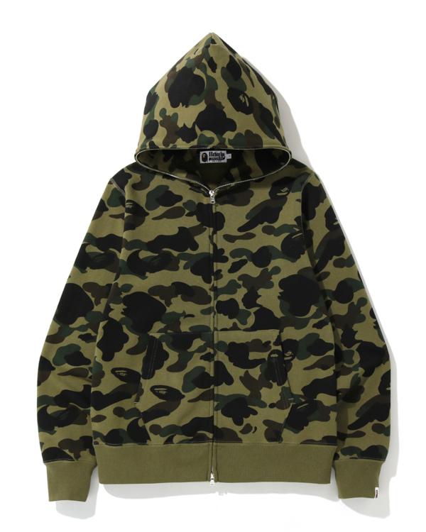 1st Camo full zip hoodie