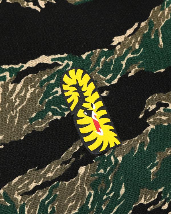 Tiger Camo Tiger zip hoodie