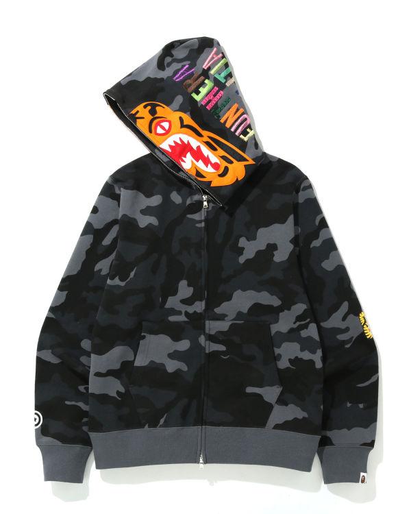 Woodland Camo Tiger zip hoodie