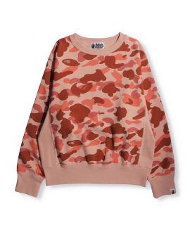 1st Camo Wide Crewneck Sweatshirt