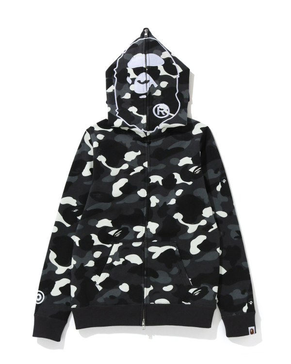 City Camo 2nd Ape full zip hoodie