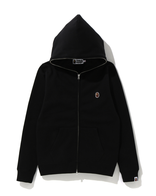 One Point zip hoodie
