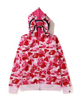 Big ABC Camo Shark Full Zip hoodie