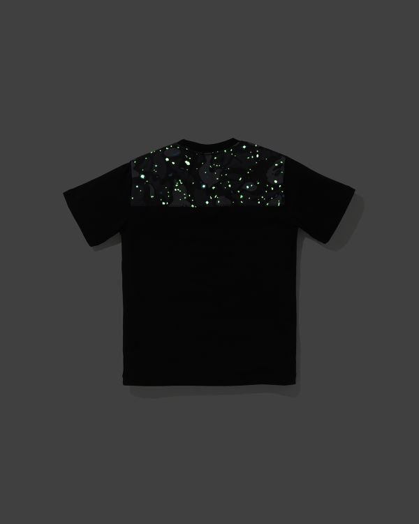 Space Camo Bape Aurora Logo tee